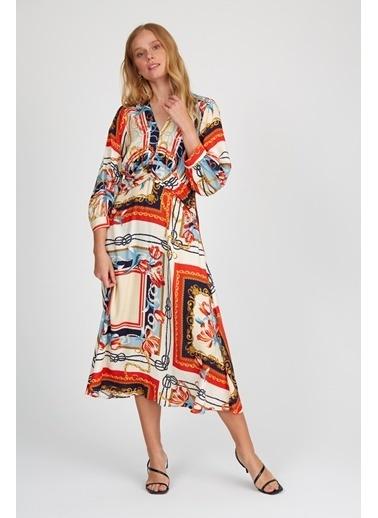 Setre Elbise Bej